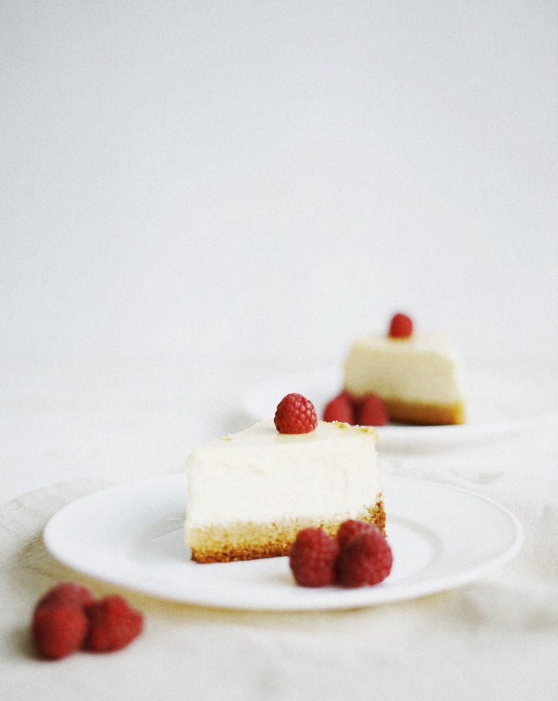 no bake cheesecake-light cheesecake