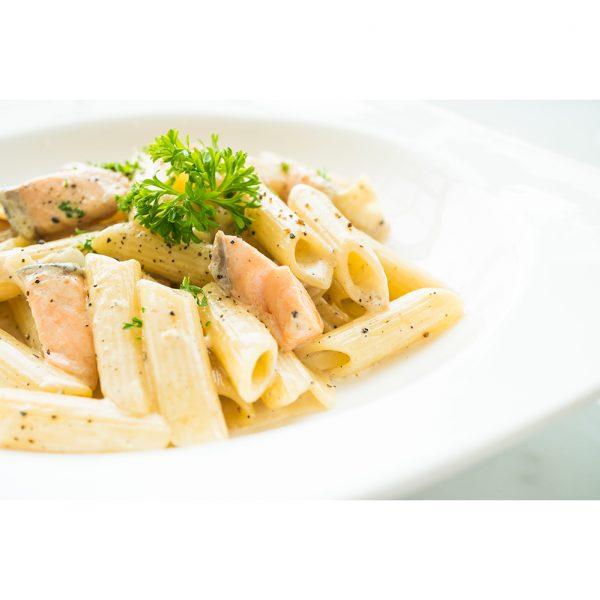 smoked salmon pasta-cream of creams