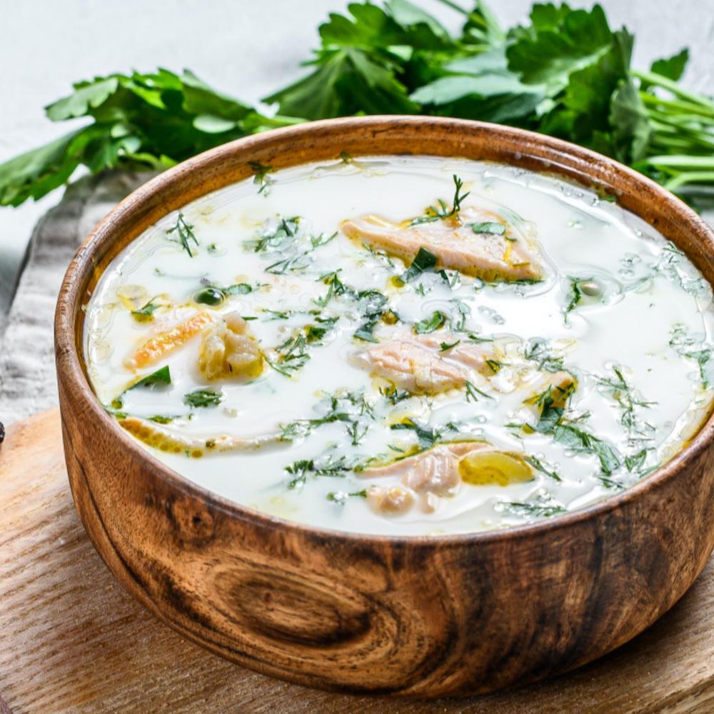 salmon chowder-cream of salmon soup-cream of creams