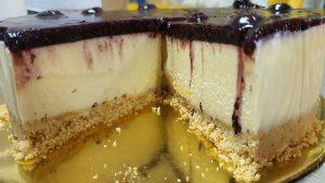 no bake blueberry cheesecake-blueberries cheesecakecream of creams-cheesecake base