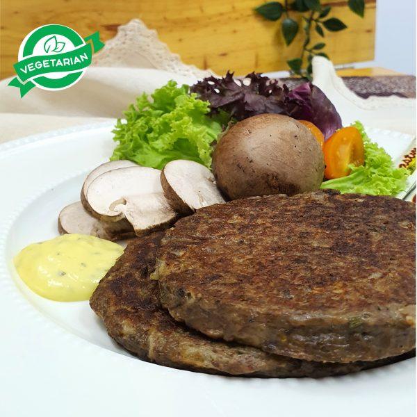 Korean-Mushroom-Patty-cream-of-creams-frozen-patty-mushroom-burger-vegetarian-patty